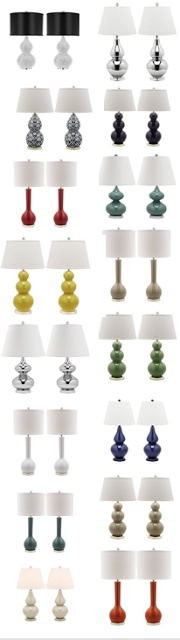 Colorful modern lamps from $149. Ends WEDNESDAY