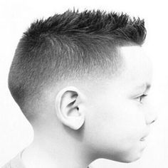 Fade Haircut For Boys