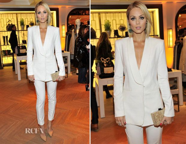 Laura Vandervoort In BCBG Max Azia – Tommy Hilfiger And P.S. ARTS celebrate the Cameron Silver Vintage Capsule Collection - Red Carpet Fashi...
