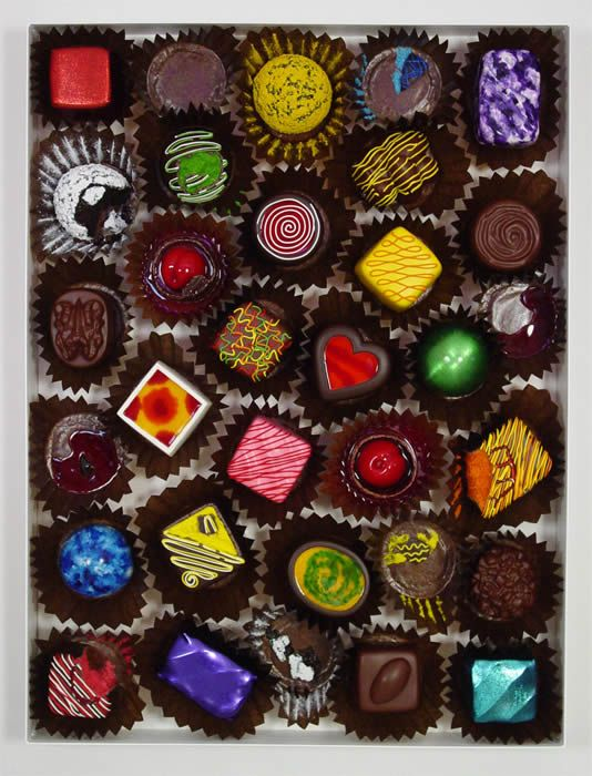 Peter Anton Chocolate Sculpture