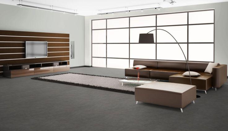 Edler Boden in Beton-Optik für Ihr Wohnzimmer