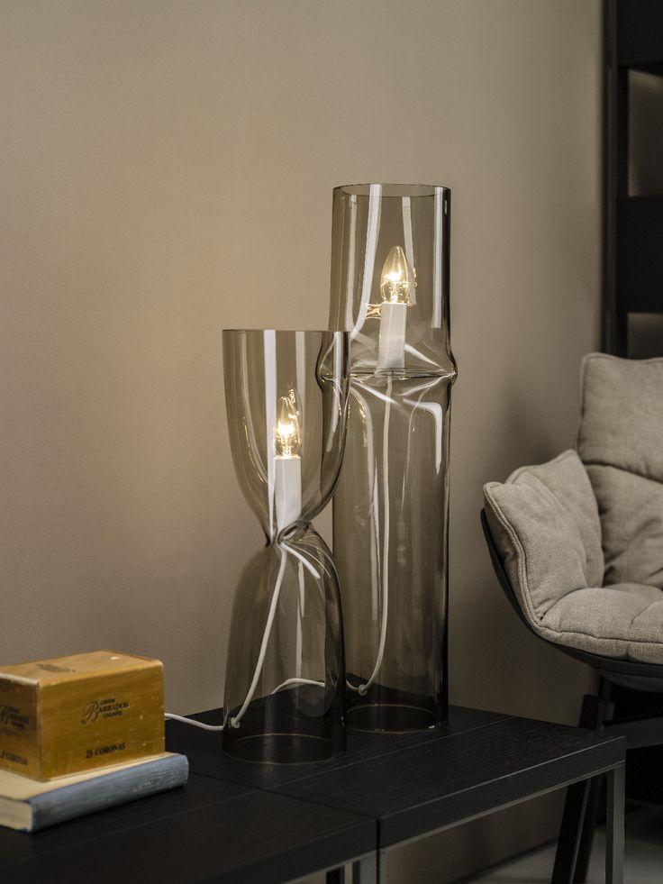 Lasvit's Press lamp by Nendo