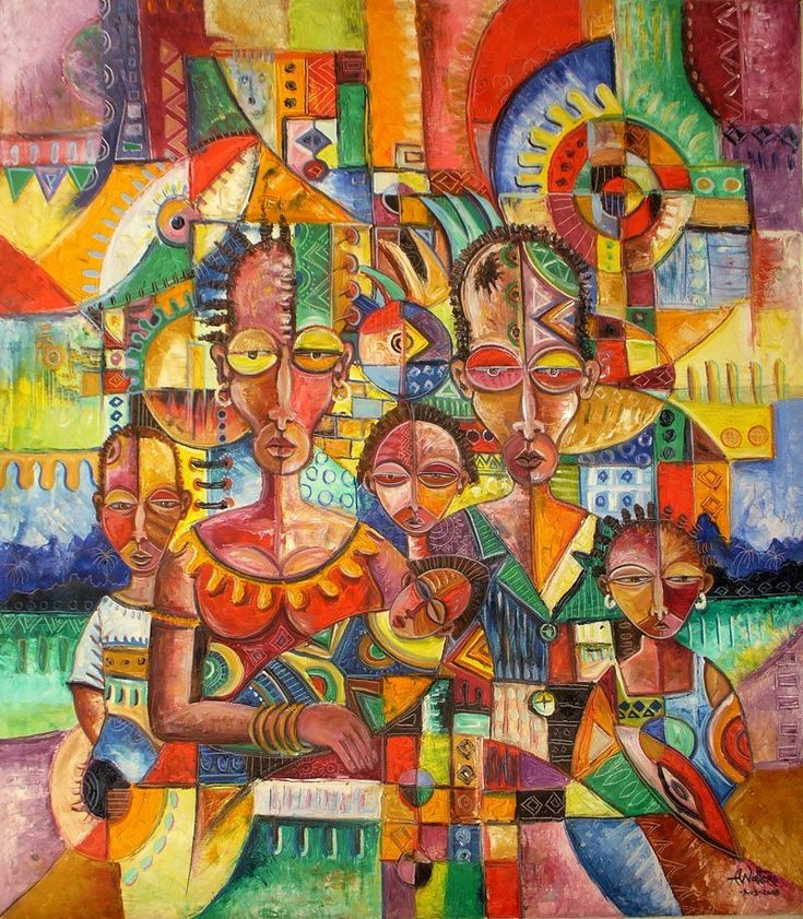 New born african art paintings art painting african art