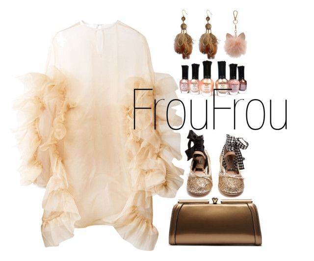 FrouFrou by illetilmote on Polyvore featuring Roberts-Wood, Miu Miu, MKF Collection and LC Lauren Conrad