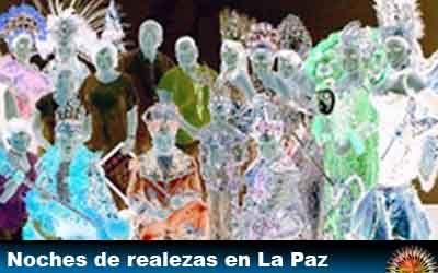"""Carnaval de La Paz: éste sábado se realizará otra """"Noches de realeza"""""""