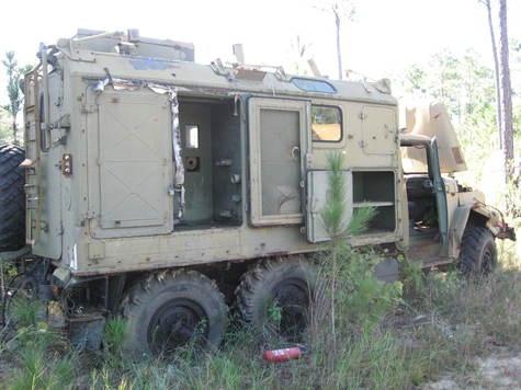 Russian Zil 131 Radio truck