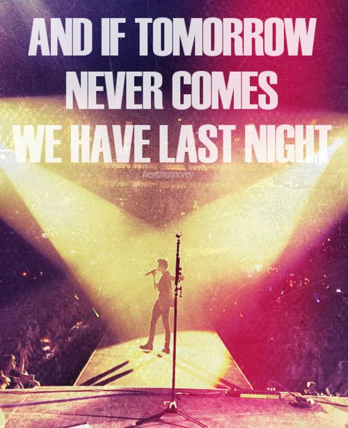 Last Night by The Vamps.
