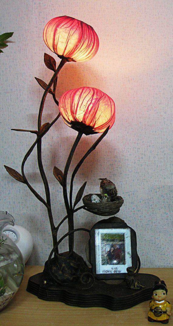 flower bud lamp