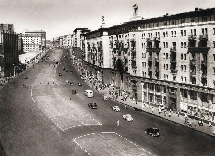Gorky street, 1949