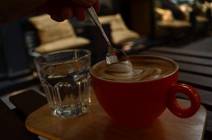 A coffee dessert named Latte.