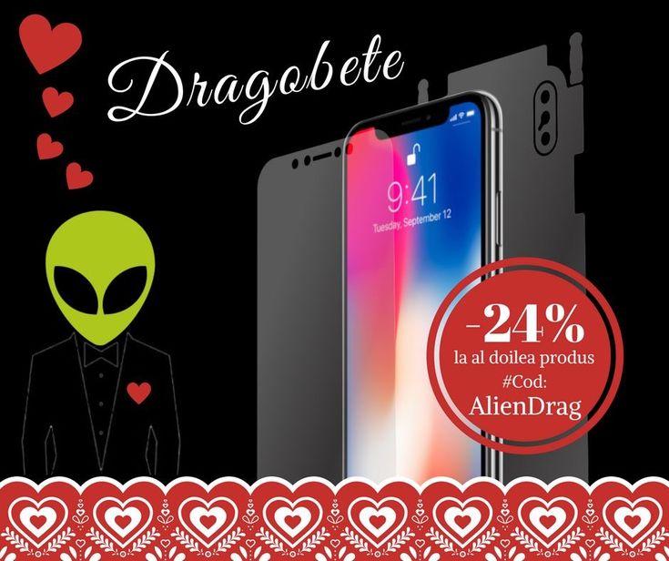 """📖""""O viață fără dragoste este asemenea unui an fără primăvară."""" 💐- Proverb suedez  😍Din dragoste pentru tine, clientul nostru, de ❤️#Dragobete, îți dăruim un cod de reducere: 𝗔𝗹𝗶𝗲𝗻𝗗𝗿𝗮𝗴. 🤗  Folosește codul și primești 24% reducere la al doilea produs #AlienSurface™ plus transport gratuit.🚚 Codul este valabil până în 25 Februarie, inclusiv.  ➤ www.aliensurface.ro"""