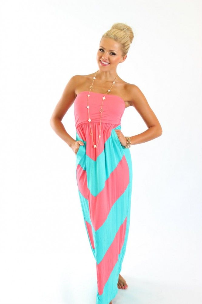 Cute boutique maxi dresses