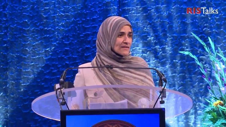 """RISTalks: Sister Dalia Mogahed - """"Get Up! Stand for your rights!"""" at RIS..."""