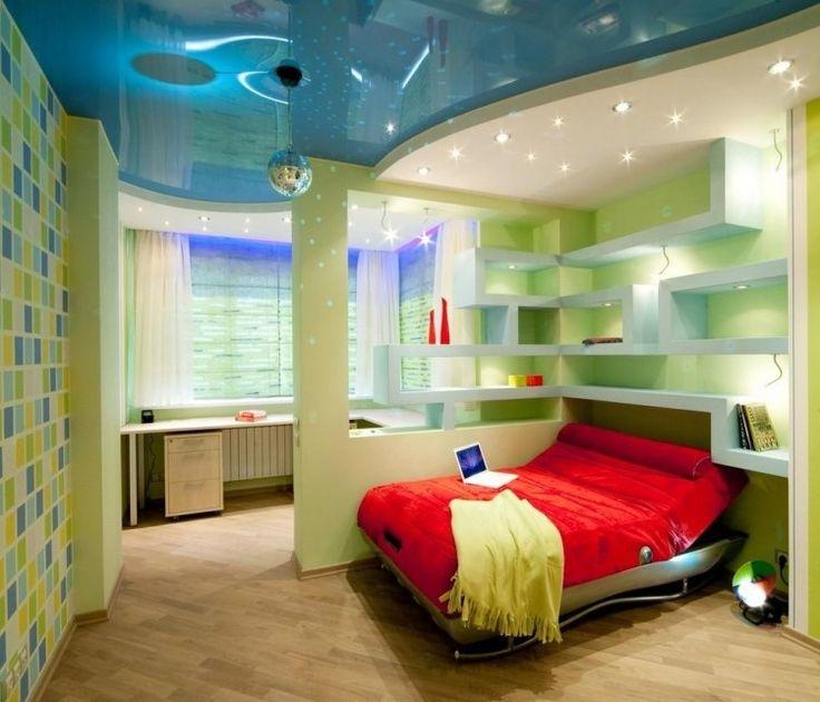 Avez-vous deux enfants et juste une chambre où les deux doivent dormir? Etes-vous à la recherche d' idée séparation pièce? Deavita vous propose 30 idées