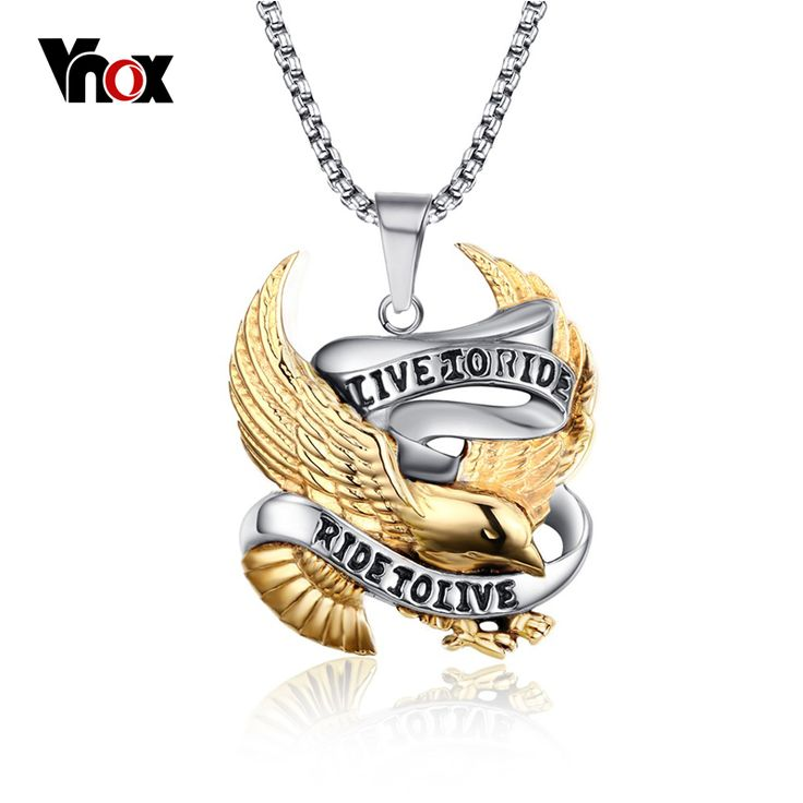 Eagle Men Necklaces The Lowest Price USA Local Post Deliver Black Friday Christmas Gifts