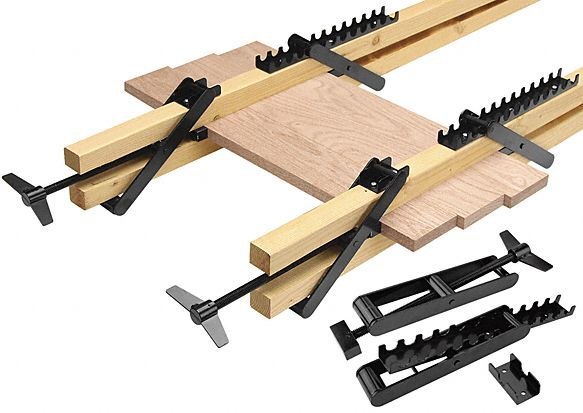 Woodtek® Double Bar Clamp, Woodtek® panel clamp double bar clamps .... http://woodworker.com/equi-pressure-clamp-mssu-CMA-038.asp?search=EQUIPRESSURE%20CLAMP&searchmode=2