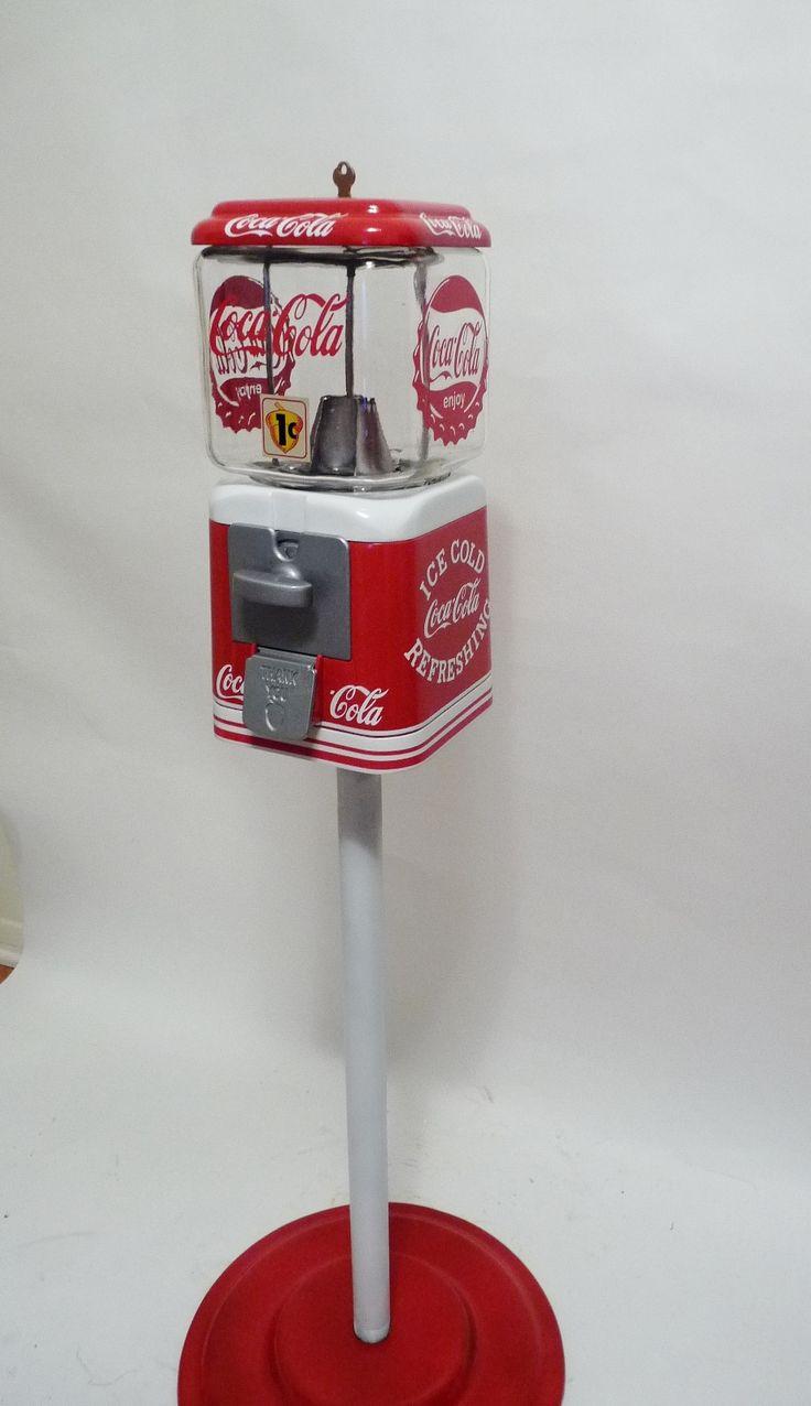 Oak Acorn vintage 40's machine. Pepsi ColaCokeCocoa ColaCoca Cola KitchenGumball  MachineKitchen DecorBadgesLunchPens