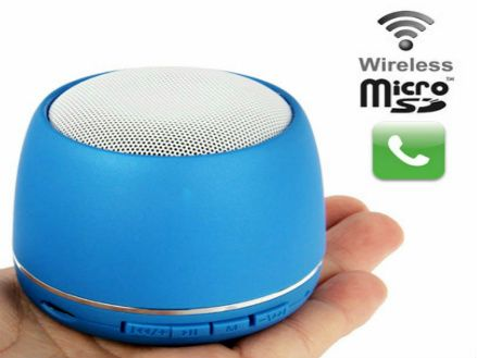 $23 for a Wireless Bluetooth Speaker &  Microphone Available in 4 Colours  - Taxes Included ($99 Value)