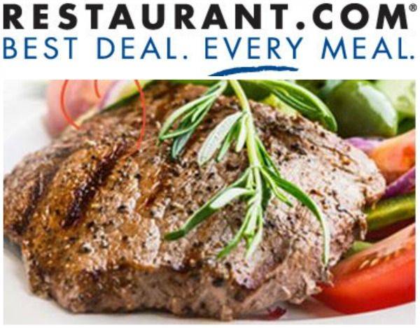 Restaurant.com Gift Certificates - $10 for $1.70 and $25 for $4.25!