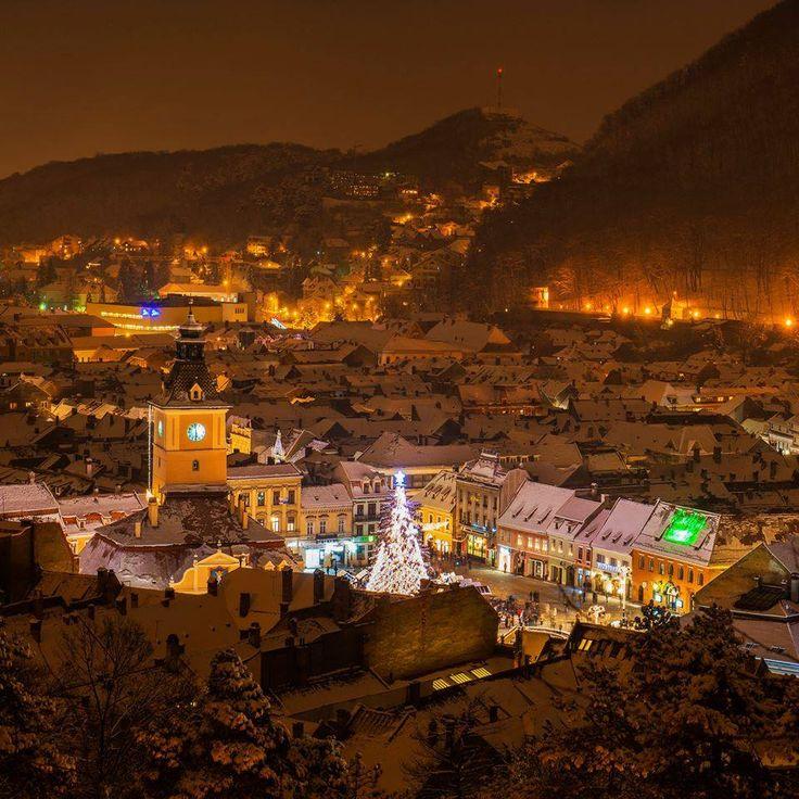 Christmas in Brasov, Romania. Medieval spirit. #medieval #holiday #travel