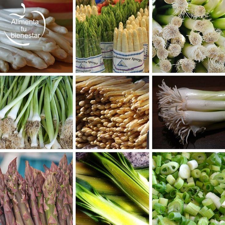 Verduras depurativas: propiedades de los espárragos y los puerros | AlimentaTuBienestar