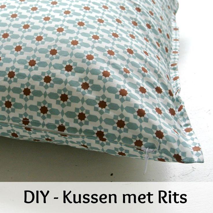 Populair 25+ unieke ideeën over Kussens naaien op Pinterest - Decoratieve  VZ89