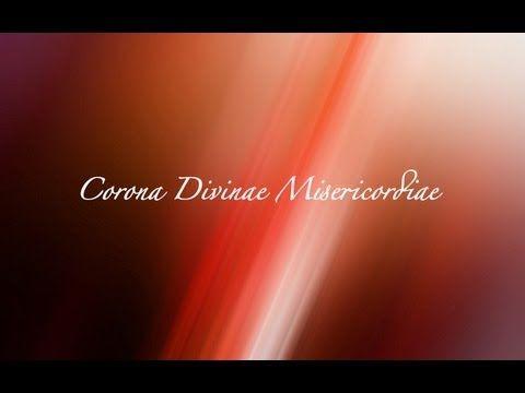 Corona Divinae Misericordiae (Divine Mercy Chaplet in Latin) - YouTube