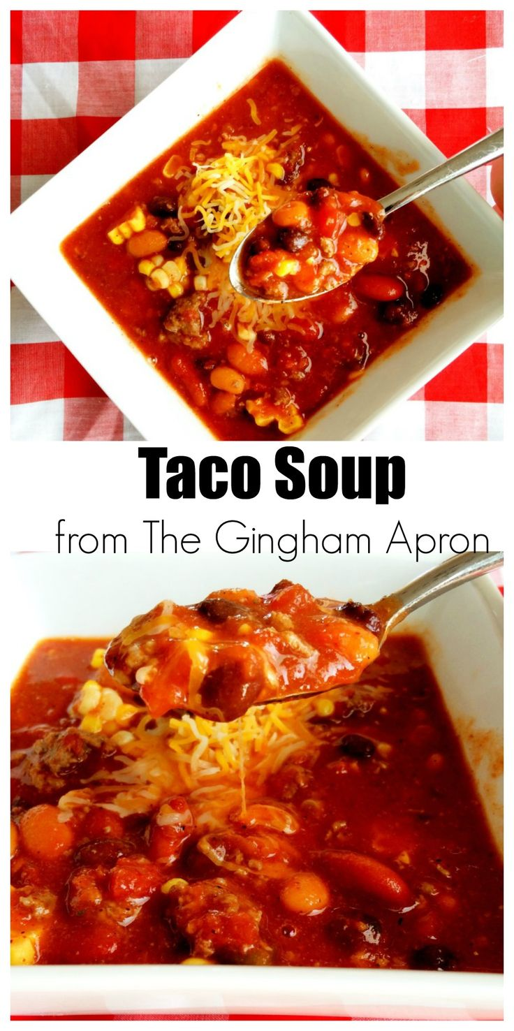 Quick, Easy, and Really Delicious. Never any leftovers with this soup!