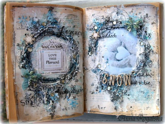 13arts: Art Journal 'Snow' by Anna Rogalska