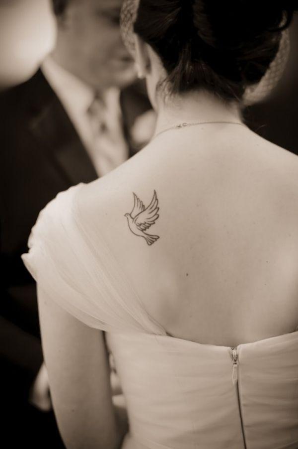 Classic Style Dove Tattoo