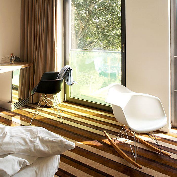 Кресло-качалка Eames Plastic Armchair RAR - Vitra | Кресла и стулья