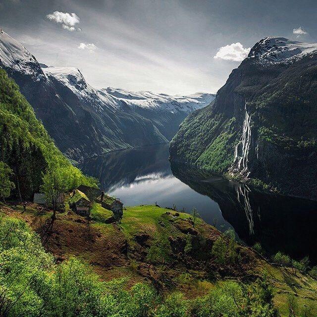 любовь картинка норвегия природа далеким звездам или