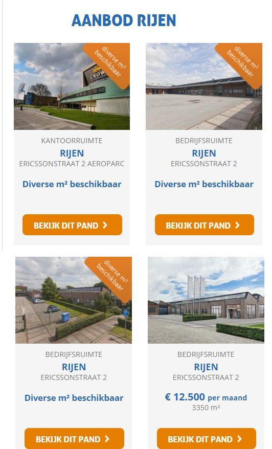 Op zoek naar kantoorruimte of bedrijfsruimte in Rijen ( naast Breda) Diverse mogelijkheden beschikbaar en in te vullen naar de wensen van de klant. Reageer vandaag nog online of bel 085-4013999.   http://www.huurbieding.nl/huren/aanbod/rijen.html  #bedrijfsruimte #kantoorruimte #tehuur #rijen #breda #huurbieding #kantoorpand #opslag #transport #mkb #starter #businesscenter #ericssonstraat #direct #beschikbaar #huren #ondernemer