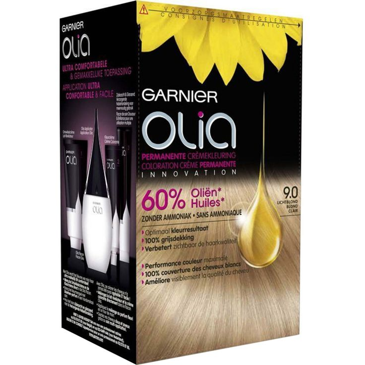 Garnier Olia 9.0 lichtblond haarkleuring|kleuring|haarverzorging|verzorging|mooi & gezond - Vivolanda
