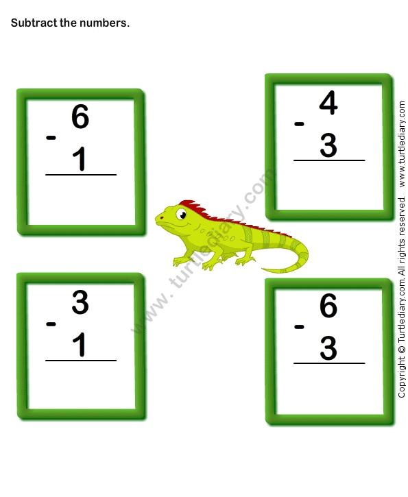 Color Subtraction Worksheet8 Subtraction Kindergarten Math Worksheets Subtraction Worksheets Kindergarten worksheets online games