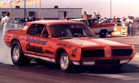 70s Funny Cars - Kenny Bernstein's first Funny Car