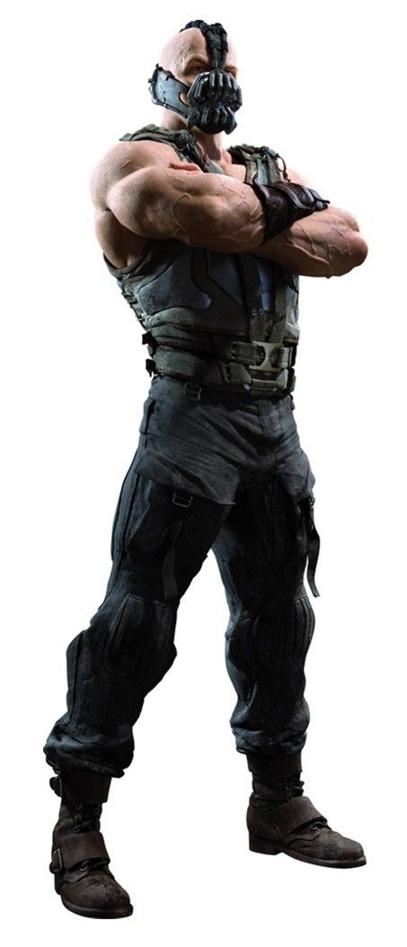 Bane from The Dark Knight Rises.