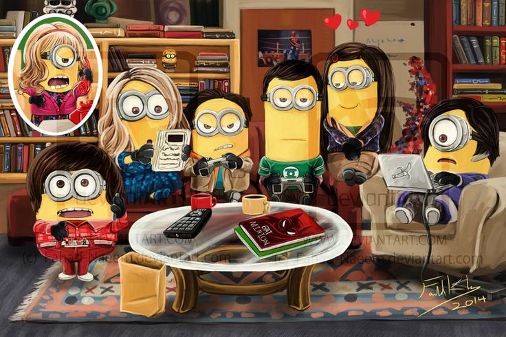 The Big Bang Theory Minions. | Minions Movie | In Theaters July 10th