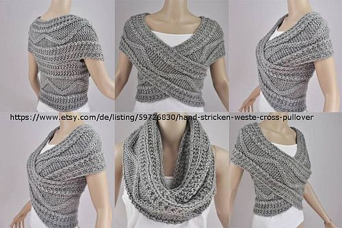 Criss Cross Loop Scarf                                                                                                                                                                                 Mehr