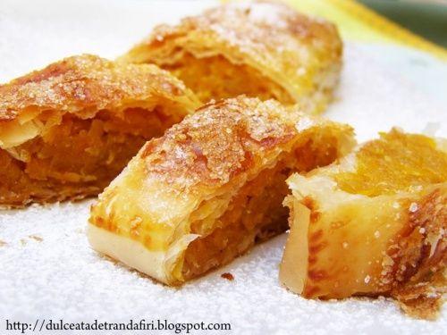 Strudel de dovleac - http://www.gustos.ro/retete-culinare/strudel-de-dovleac.html