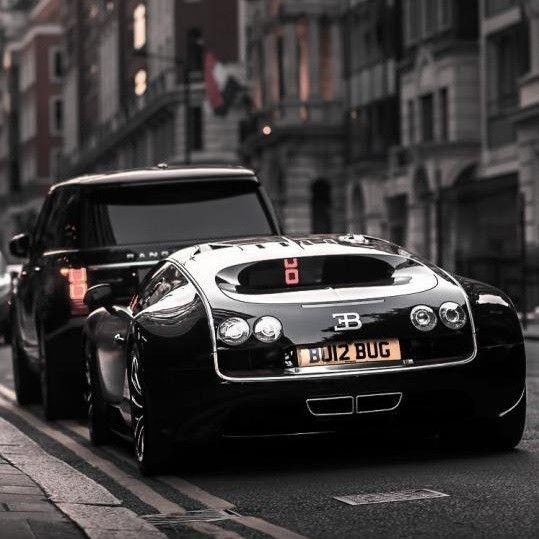 Diamond Bugatti Veyron Super Sport: Retro Cars/Motorcycles Image By J Diamond