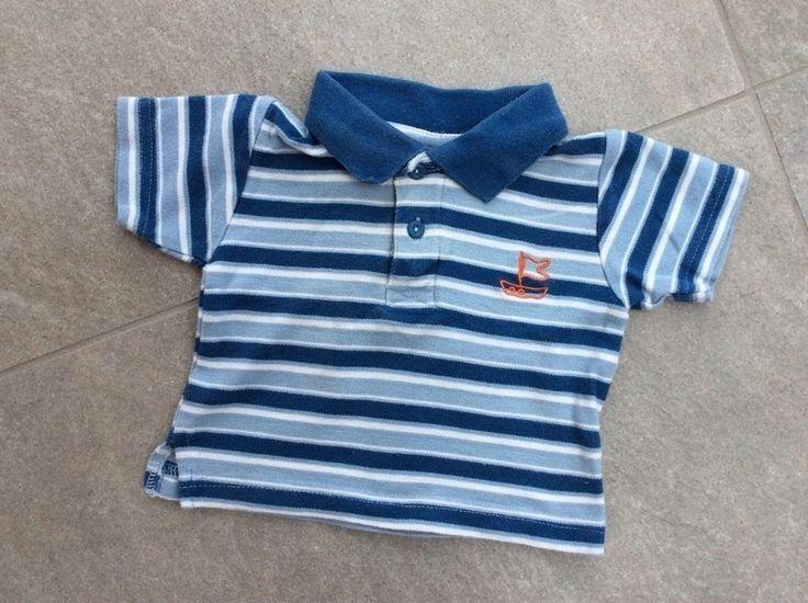 Mein Tolles Poloshirt kurzarm / T-Shirt in blau-weiß gestreift mit Segelboot / Gr. 62/68 / guter Zustand von Impidimpi! Größe 62 für 2,00 €. Schau´s dir an: http://www.mamikreisel.de/kleidung-fur-jungs/poloshirts/34304814-tolles-poloshirt-kurzarm-t-shirt-in-blau-weiss-gestreift-mit-segelboot-gr-6268-guter-zustand.