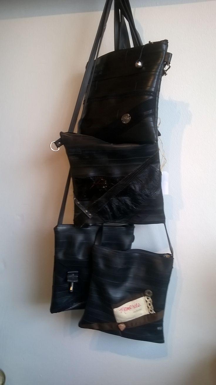 New bags of bike's tyre, Bruunsatelier