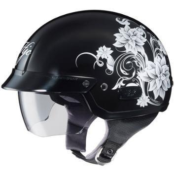 HJC Helmets IS-2 Blossom MC-5 Women's Half Helmet