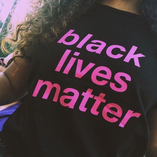 shirt black lives matter black t-shirt