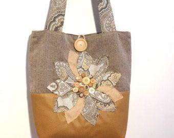 Sac fourre-tout en simili cuir, sac a main, sac en tissu gris, sac à bandoulière en cuir, sac cabas, grand sac cabas, sac à bandoulière beige, gris sac à main