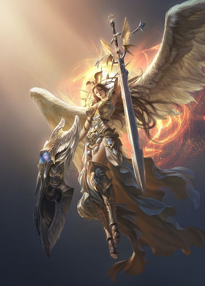 Jeu vidéo : League of Angels / character : Victoria    / http://leagueofangelsfr.e-monsite.com/pages/les-anges/page-17.html
