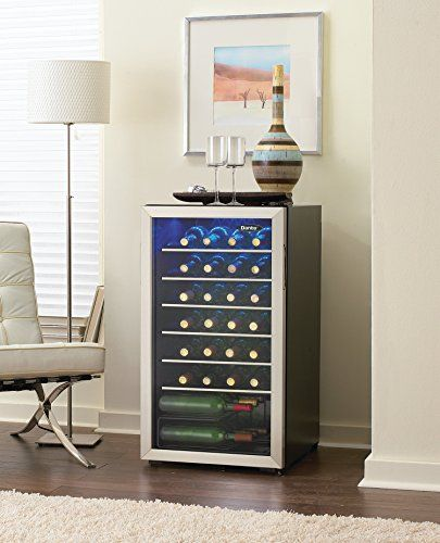 Danby 36 Bottle Freestanding Wine Cooler - http://our-shopping-store.com #WineCooler