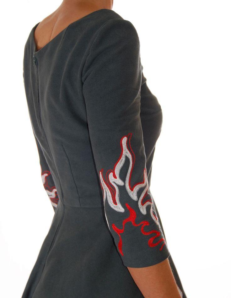 Handmade Western Dress Attack! - San Antonio Fritz - Western Wear for Rocket, Ranch & Rodeo