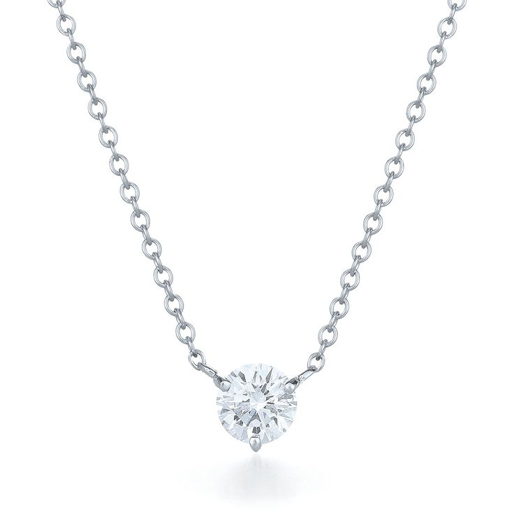 necklace white kt bpr hover pf gold in diamond solitaire zoom to